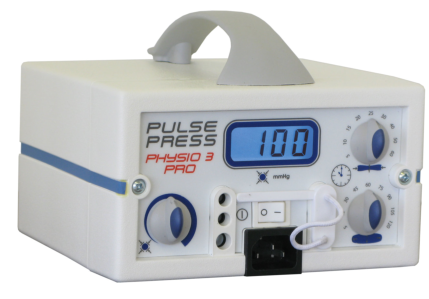 Pulse Press Physio 3 Pro (manchetten 1 tot 3 kamers)